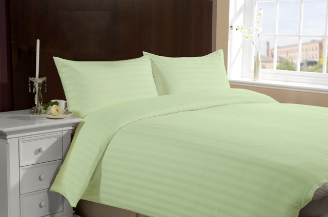 Twin Size Hotel Collection 3-Piece Bedding Sets - Green