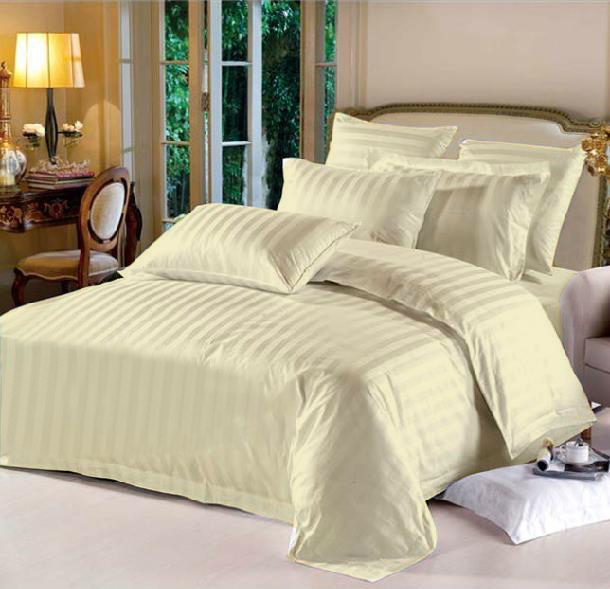 King Hotel Collection 6-Piece Bedding Sets – Ivory