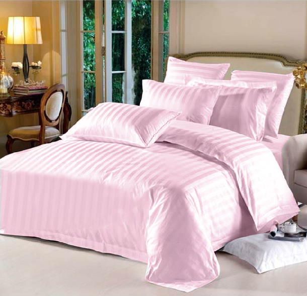 King Hotel Collection 6-Piece Bedding Sets – Pink