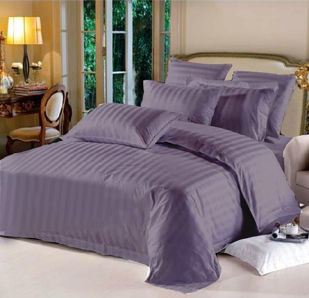 King Hotel Collection 6-Piece Bedding Sets – Purple